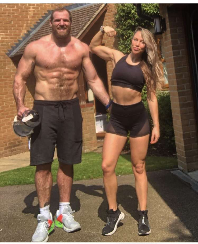 Chloe Madeley & James Haskell Home Workout